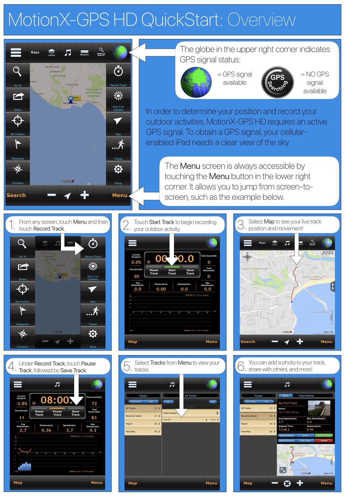 motionx gps ipad quickstart guide motionx rh gps motionx com MotionX-GPS Drive for Android MotionX-GPS Lite