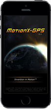 MotionX-GPS for iPhone
